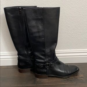 Coach Mabel Calf Black Genuine Leather Boots 9